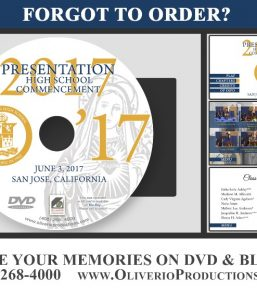 Presentation High School 2017 Graduation