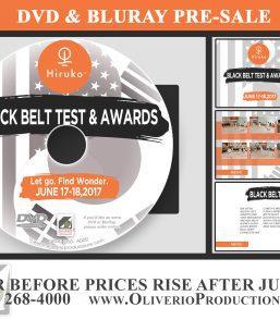 Hiroku Black Belt Test and Awards