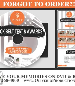 Hiroku Black Belt Test & Awards 2017
