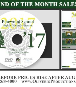 Pinewood School 8th Grade Graduation 2017