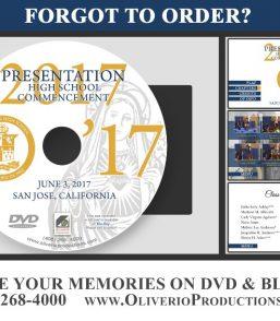 Presentation High School 2017 Graduation